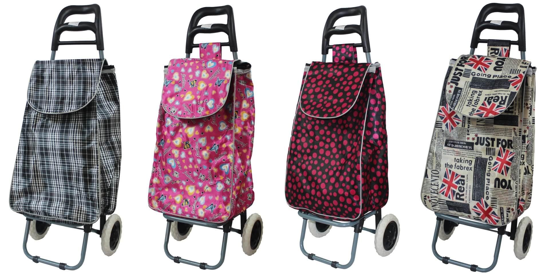 Torba na zakupy z wózkiem l Chomik Gdów